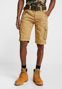 Schott - BATTLE - Shorts - beige - 0