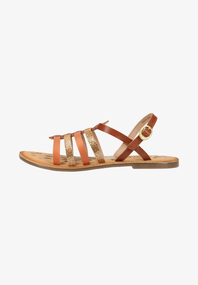 Sandals - marron camel