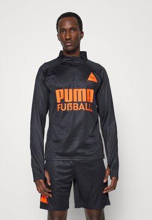 FUSSBALL PARK TRAINING - Top sdlouhým rukávem - black