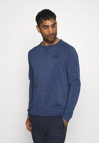 Calvin Klein Golf - COLUMBIA CREW NECK - Sweatshirt - denim marl - 0
