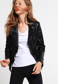 Oakwood - VIDEO - Leather jacket - noir - 3