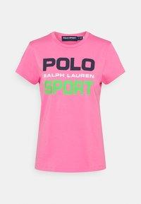 Polo Ralph Lauren - T-shirt con stampa - pink - 5