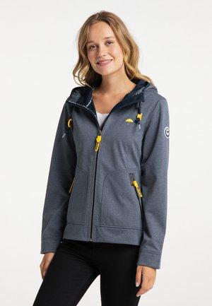 Waterproof jacket - marine melange