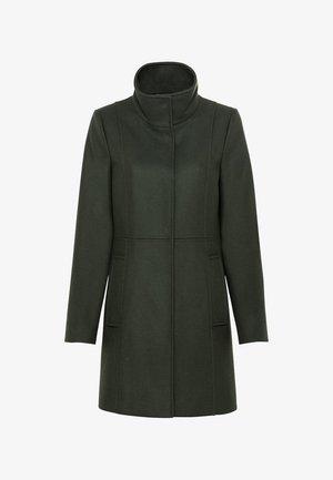 MIT STEHKRAGEN - Classic coat - olijfgroen