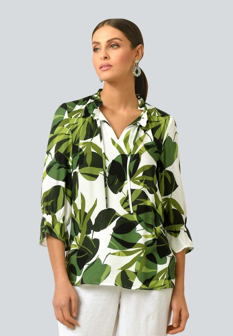 Alba Moda - Long sleeved top - weiß grün