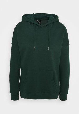 HOODY - Bluza z kapturem - dark green