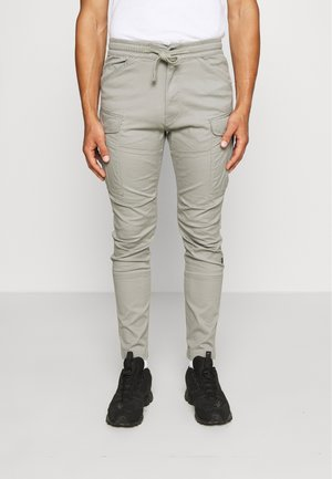 ROVIC SLIM TRAINER - Cargo trousers - olive