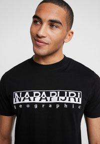 Napapijri - EMBRO - T-shirt print - black embro - 3