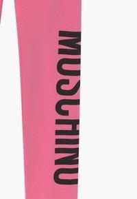 MOSCHINO - Legging - dark pink - 3
