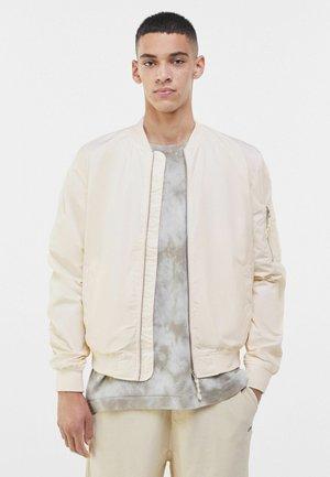 Bomber Jacket - off white