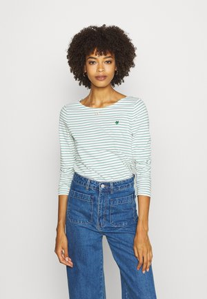 Long sleeved top - multi/soft white