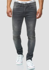INDICODE JEANS - Jeans Slim Fit - lt grey - 0