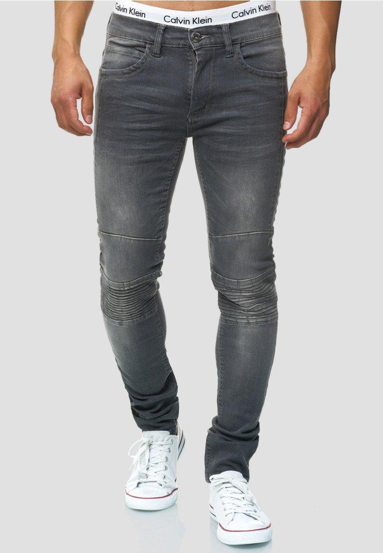 INDICODE JEANS - Jeans Slim Fit - lt grey