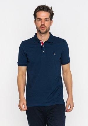 Poloshirt - navy/ecru