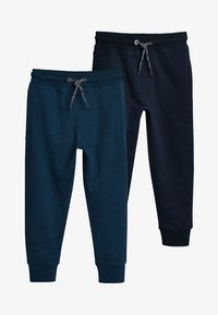 Next - 2 PACK  - Trainingsbroek - dark blue - 0