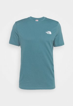 MENS SIMPLE DOME TEE - Jednoduché triko - mallard blue