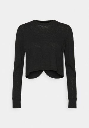 LIFESTYLE LONG SLEEVE - T-shirt à manches longues - black