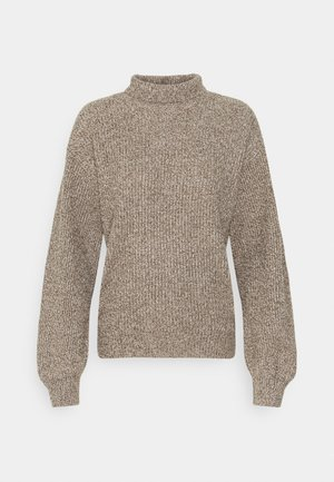TURTLENECK  - Jumper - neutral marl/grey