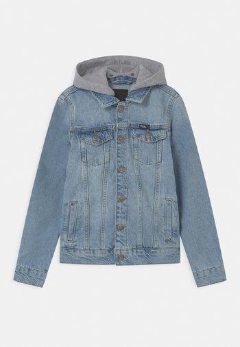 TREY - Džínová bunda - light-blue denim
