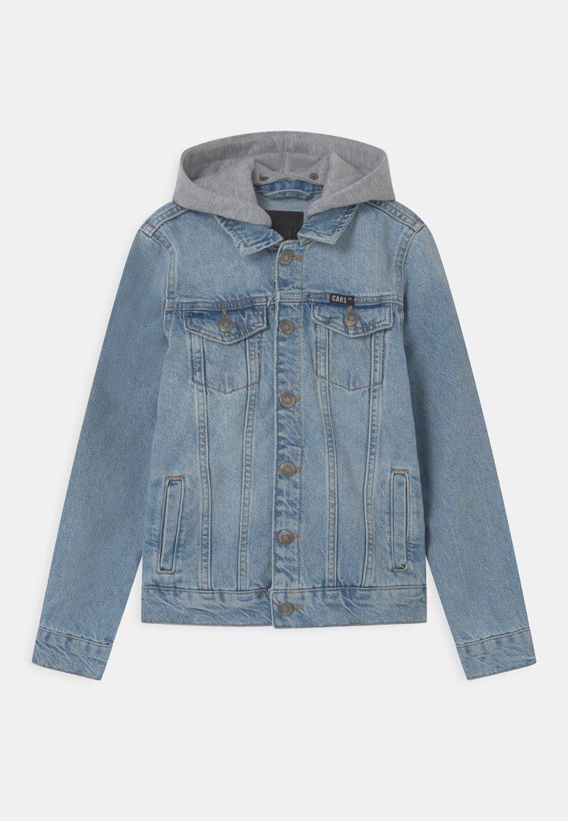 Cars Jeans - TREY - Džínová bunda - light-blue denim