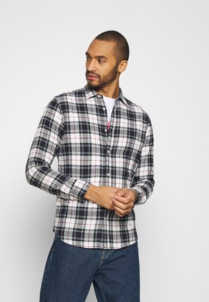 JJEWILL CHECK SHIRT  - Overhemd - cloud dancer