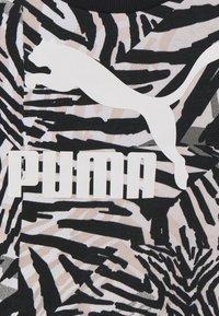 Puma - CLASSICS SAFARI CREW - Mikina - white/black - 2
