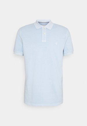 SHORT SLEEVE BUTTON PLACKET - Poloshirt - palace pearl