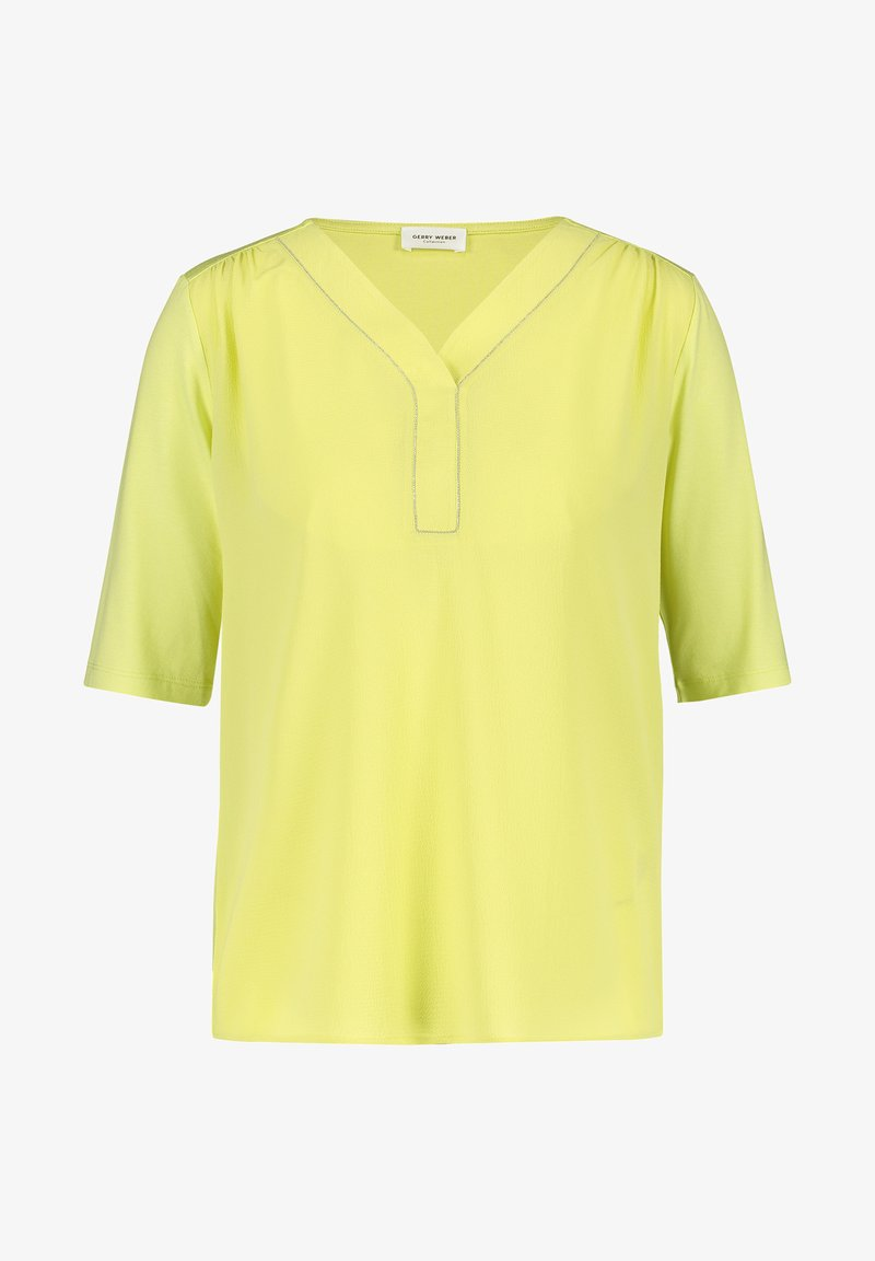 Gerry Weber - MIT KETTENAPPLIKATION - Long sleeved top - light lime