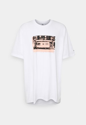 PHOTO TEE - T-shirt med print - white