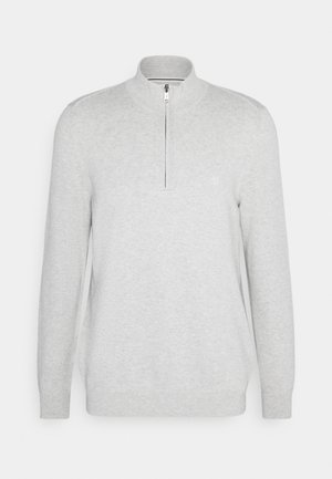 TROYER WITH ZIP - Jumper -  grey