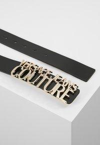 Versace Jeans Couture - LOGO BELT - Cintura - nero - 2