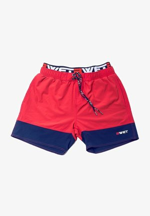 ECO-FRIENDLY QUICK DRY UV PROTECTION PERFECT FIT - Zwemshorts - red