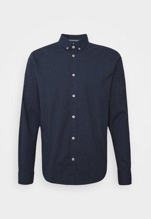 REGULAR PRINTED - Košile - navy blue