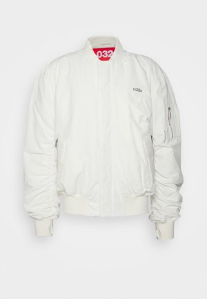 JACKET UNISEX - Bomber tipa jaka - natural white