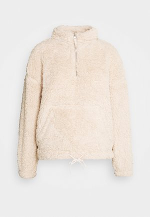 TEDDY 1/2 ZIP  - Forro polar - camel