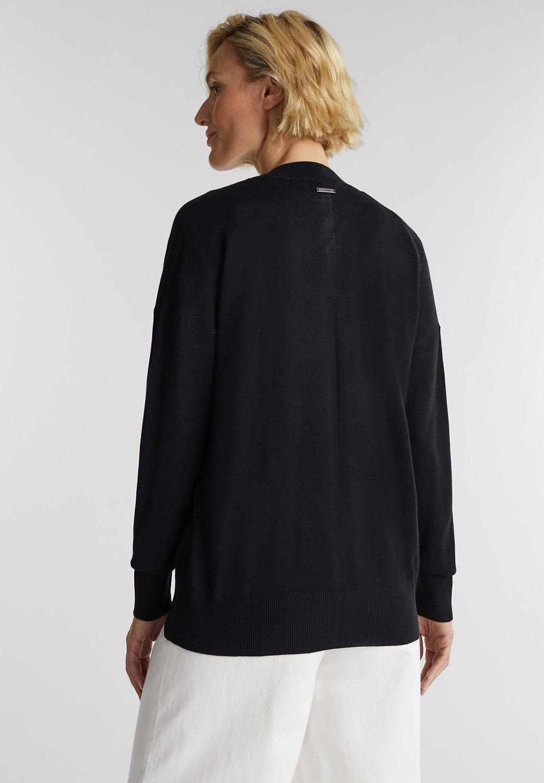 Esprit BUTTOND CARDI - Vest - black - Dames jas Actueel