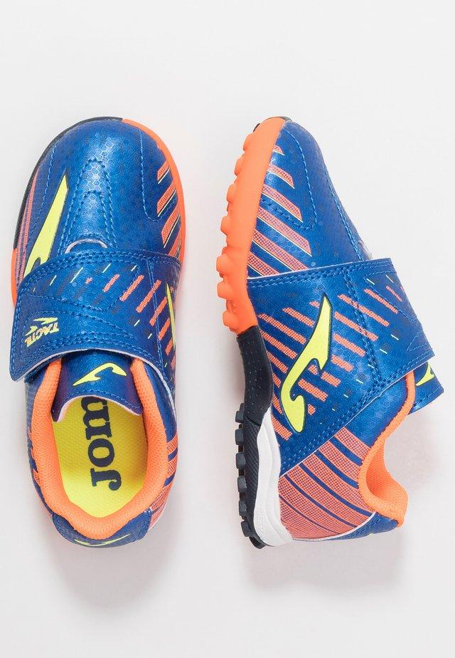 TACTIL - Astro turf trainers - blau