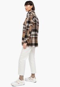s.Oliver - Light jacket - brown check - 2