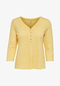 ONLY - T-shirt à manches longues - cornsilk - 4
