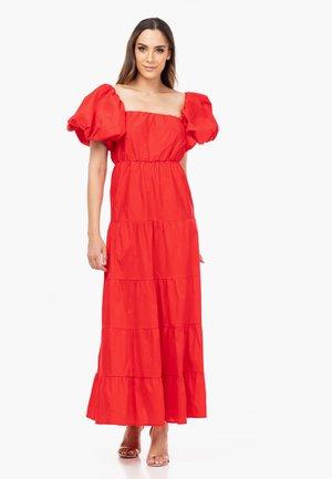 PUFFÄRMELN - Maxi dress - rojo
