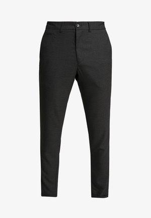 CLUB PANTS CHECKED - Kalhoty - grey
