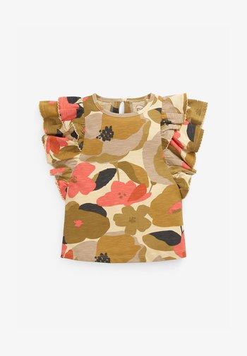 FRILL - T-shirt print - orange