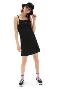 Vans - WM TOGETHER FOREVER DRESS - Jersey dress - black - 0