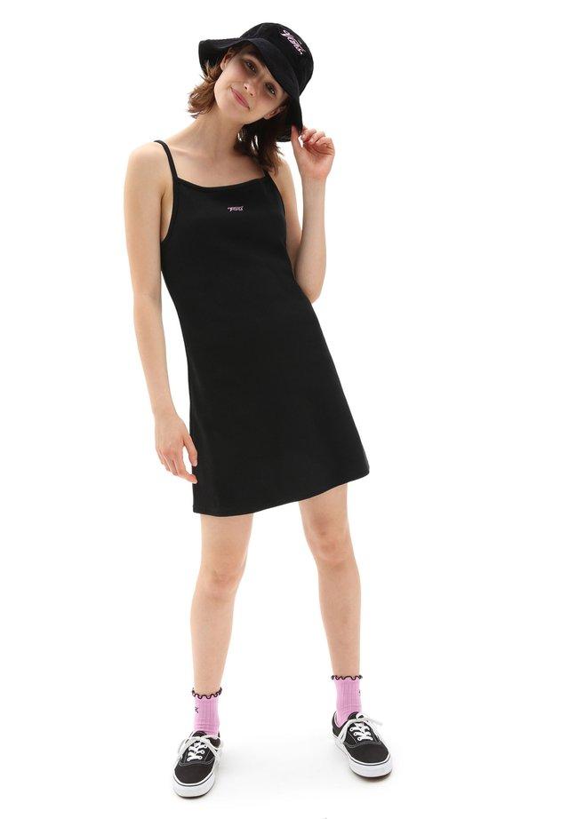 WM TOGETHER FOREVER DRESS - Jerseyjurk - black