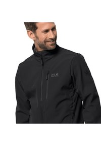 Jack Wolfskin - WHIRLWIND - Soft shell jacket - black - 2