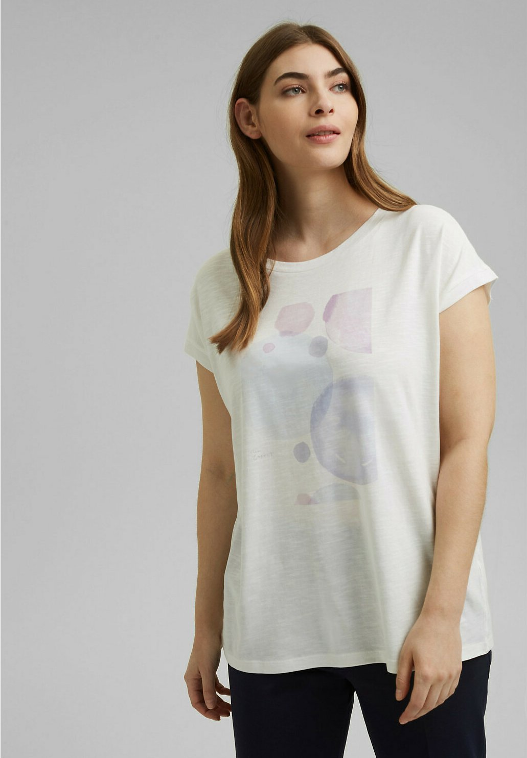 Damen CURVY PRINT - T-Shirt print