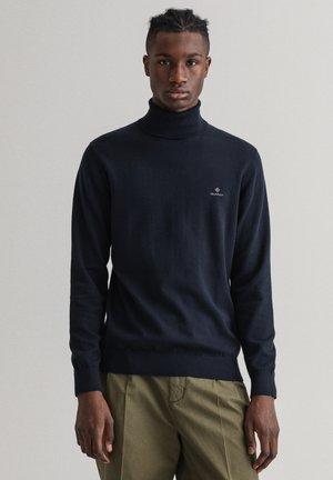 CLASSIC TURTLENECK - Stickad tröja - evening blue