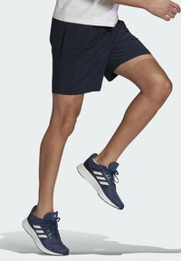 adidas Performance - Korte sportsbukser - blue - 2