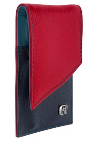 Zwilling - SNAP FASTENER CASE IN CALF LEATHER 3 PIECES - Kit unghie - blue/red - 1