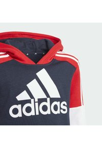 adidas Performance - Jersey con capucha - legend ink/vivid red/white - 4